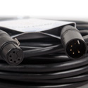 ACCU-CABLE AC5PDMX50PRO  5 Pin Pro DMX Cable - 50 Foot