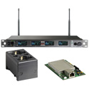 MIPRO ACT-848 DANTE-5E-KIT Dante Four Channel Dante Enabled Rack Mount Receiver with Charging Station 480-544 MHz Li-Ion