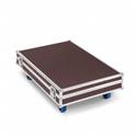 Sennheiser ADN-W-CASE-BASE Modular Transport & Charging Case - Bottom with Wheels and Case Lid