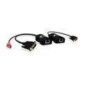 Adder ALDV120P Link DV120 Digital AV DVI Extender Pair 50M
