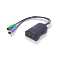 ADDER KMU2P KM Converter USB K/M to PS/2 PC - Allows USB Keyboard and Mouse to Control Native PS/2 PC or KVM Device