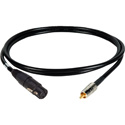 Connectronics AES-SPDIF XLF to RCA Digital Audio Cable 6 Foot