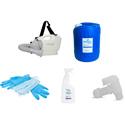 Hanover Hospital Grade Disinfectant Handheld Fogger Kit PPE
