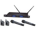 Audio Technica Dual Wireless Mic Systems