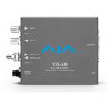 AJA 12G-AM-T-ST 12G-SDI 8-Channel AES Embedder/Disembedder with ST Fiber Tx SFP