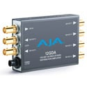 AJA 12GDA 12G/6G/3G/HD/SD-SDI Distribution Amplifier