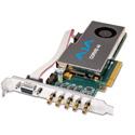 AJA Corvid CRV44-S-NCF 8-Lane PCIe 2.0 - 4-Ch I/O Card - Short Bracket - 4K  - Fanless Passive Cooling - No Cables
