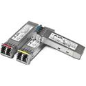 AJA FIB-2CW-3537 CWDM Fiber SFP Option - Dual TX 1351/1371 Singlemode LC Duplex