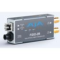 AJA FiDO-2R-MM 2-Channel Multi-Mode LC Fiber to 3G-SDI Receiver