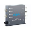 AJA FiDO-4T 4-Channel 3G-SDI to LC Optical Fiber