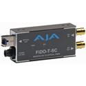 AJA FiDO-T-SC 1-Channel SDI to SC Fiber Converter w/Looping SDI Out