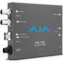 AJA HI5-12G-R 12G-SDI to HDMI 2.0 Mini-Converter with Fiber Receiver