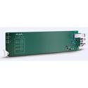 AJA OG-FIBER-2R-MM OpenGear Card 2-Channel Multimode LC Fiber to 3G-SDI Receiver