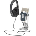 AKG 5122010-00 Podcaster Essentials Audio Production Kit with AKG Lyra USB Microphone and K371 Headphones