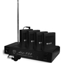 Nady ALD-800 4-Person Multi Channel RF Assistive Listening System 72.1 MHz