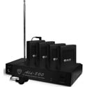 Nady ALD-800 4-Person Multi Channel RF Assistive Listening System 72.5 MHz