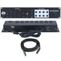 American DJ DUO Station - 3-Channel RGB LED Controller and 8-Chan Switching System