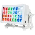 ADJ HEX300 32 HEX Panel IP Pearl Multi-Functional Wash / Blinder / Color Strobe Fixture - 32 x 12W HEX LEDs