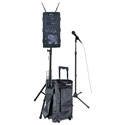 AmpliVox B9251 Digital Audio Travel Partner Wireless PA Basic Package - Choice of 1 Wireless Mic with Transmitter