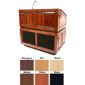 Amplivox SS3035OK  Ambassador Lectern with Sound - Oak