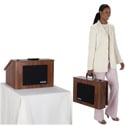 Amplivox SW272-WT Wireless EZ Speak Folding Lectern with carrying case