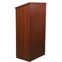 Amplivox W280MH Full Height Wood Lectern - Mahogany