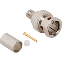 Amphenol 031-70548-12G Straight Crimp Plug 12G BNC Connector for Belden 4694R Cable - 75 Ohm