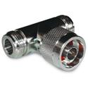 Amphenol 172125 N Tee Adapter Jack-Plug-Jack - 50 Ohm