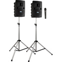 Liberty LIB-DP1-AIR -H Deluxe AIR Package 1 with LIB2-XU2 LIB2-AIR 2 SS-550 and 1 WH-LINK Wireless Handheld Mic