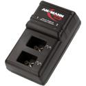 Ansmann 1001-0063-US Plug-in Charging Station for 2 9Volt NiMH Batteries