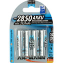 Rechargeable Batteries From Ansmann 5035212 Mignon Ni-Mh AA 2850mAh - Pack of 4