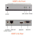 Apantac HDBT-1-Es HDMI Extender over CAT 5e/6 up to 70 meters at 1920x1080p