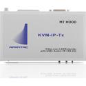 Apantac KVM-IP-TX KVM Transmitter Extender over IP with USB Mouse and Keyboard over Gigabit Ethernet LAN