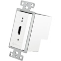 AVPro Edge AC-CXWP-HDMO-T HDMI Wall Plate Transmitter via HDBaseT - Up to 230ft on 4K (Cat6a) - White