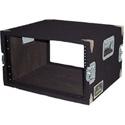 Grundorf AR-06DR Amp Rack Case 6RU Black Carpet