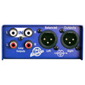 ARX IB-1 Audibox ISO Balancer Stereo RCA Unbalanced to Balanced XLR