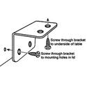 ARX TMK-1 Audibox  Rackmount Kit Mounting bracket for a single AudiBox.