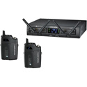 Audio Technica ATW-1311 System 10 Pro Rackmount Digital Wireless with 2 BodypackTransmitters & 2 Receivers