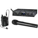 Audio-Technica ATW-1312/L System 10 Pro Wireless with HH Mic/TX & 2 RX Units & 1 Bodypack TX & 2 Lav Mics