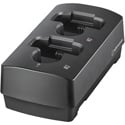 Audio-Technica ATW-CHG3N Networked Two-Bay Charging Dock for use with 3000 Series (4th Gen) Power Supply Not Included
