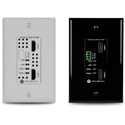 Atlona AT-HDVS-210H-TX-WP 4K/UHD Two-Input Wallplate Switcher for HDMI with HDBaseT Output