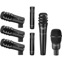 Audio-Technica PRO-DRUM7 Seven Drum Mic Pack