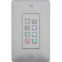 Aurora DXB-8-W 8-Button Backlit Panel - White
