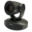 Avipas AV-1281G 10x Full-HD 1080p HDMI PTZ Camera with IP Live Streaming and HDMI outputs and PoE Support in Dark Gray
