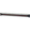 AVP AV-D232E1-AMN75 1 RU Panel 32 AMN75 Normaled Terminating Jacks