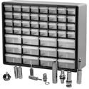 TecNec Premium A/V Adapter Super Kit - 44 Drawer Cabinet