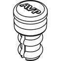 AVP DC-BBK10 Dust Plug - Fits Bantam Audio Jacks - Package of 10