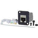 AVP UM2RJ45-6S Maxxum Cat6 Shielded RJ45 Tool-less or 110/Krone Punchdown 23-26AWG Stranded or Solid