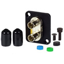 AVP UMF-SMD-ST Maxxum ST Singlemode Duplex Fiber Optic Mount Feedthru Adapter Plate(s) and/or Hardware MIS Color-Code
