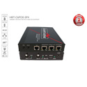 Avenview HBT-C6POE-SP4 1 X 4 HDBaseT HDMI CAT5/6/7 Splitter with PoE Bi-directional IR and Ethernet Extending 4K2K